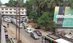 vehicle rush guruvayur